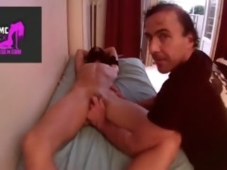clit-rubbing massage